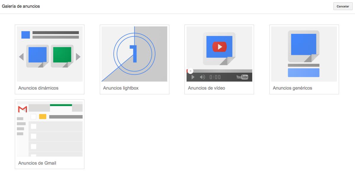 campañas sem en Google AdWords 1