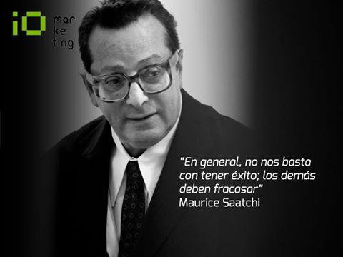 maurice Saatchi - maestros del marketing